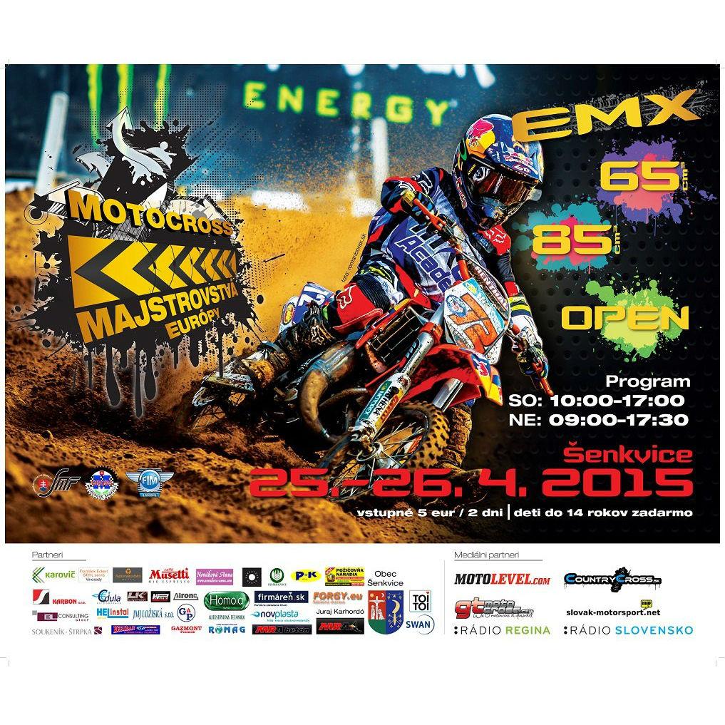 Mastrovstvá Európy v motokrose Šenkvice 2015