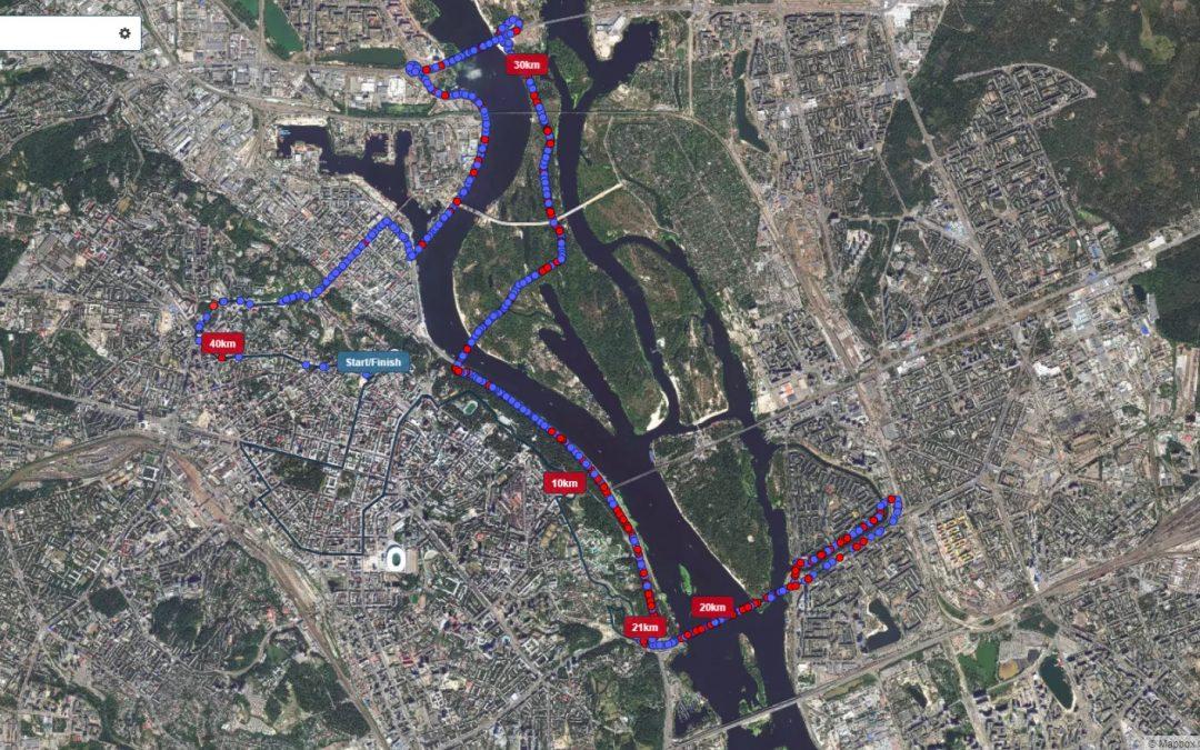 Racemap GPS trackery